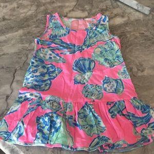 Lilly Pulitzer XS (2/3) girls sun dress